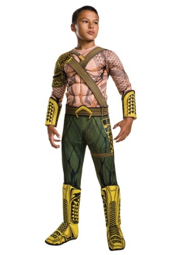 Child Deluxe Dawn of Justice Aquaman Costume