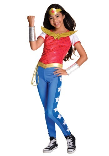 Girls DC Superhero Deluxe Wonder Woman Costume