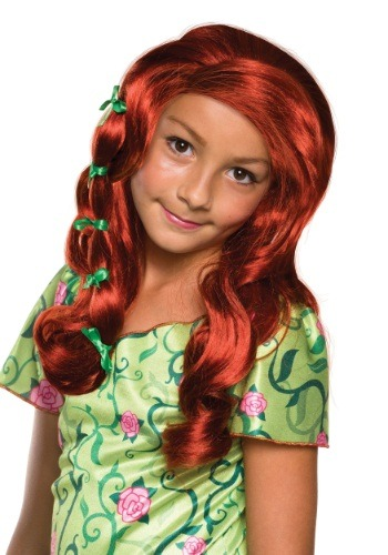 Girls DC Superhero Poison Ivy Wig