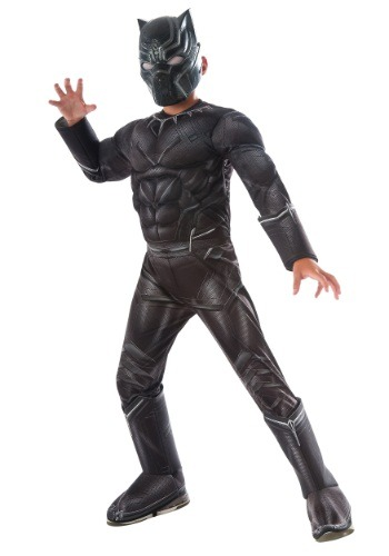 Boys Black Panther Civil War Deluxe Costume