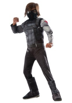 Boys Winter Soldier Civil War Deluxe Costume