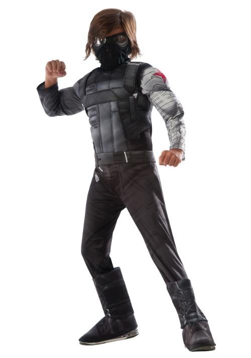 Boys Winter Soldier Civil War Deluxe Costume