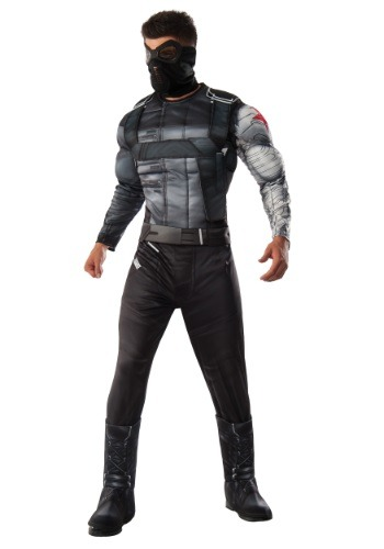 Deluxe Winter Soldier Civil War Mens Costume