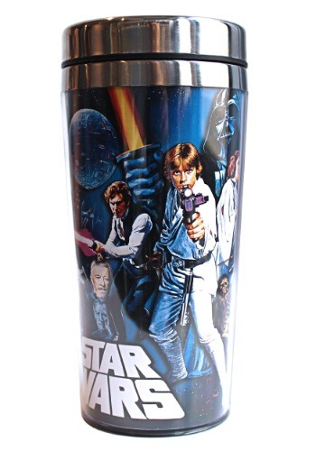 Star Wars Poster 16oz Steel Travel Mug
