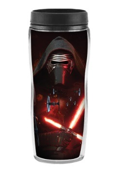 Episode VII Kylo Ren 16oz Curved Plastic Travel Mug