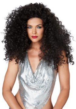 Brunette Disco Diva Women's Wig