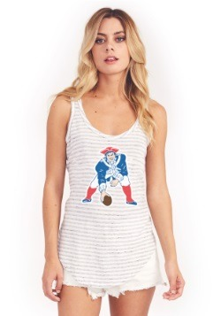 New England Patriots Time Out Women's Tank