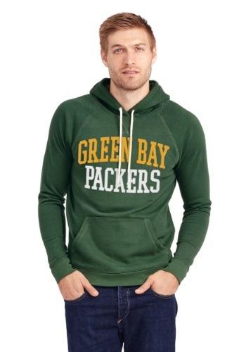 Green Bay Packers Half Time Mens Hoodie