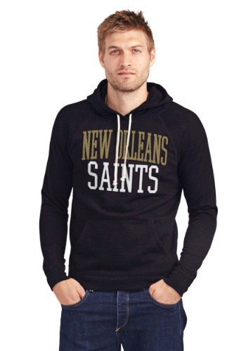 New Orleans Saints Half Time Mens Hoodie