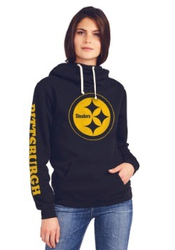 Pittsburgh Steelers Cowl Neck Womens Hoodie