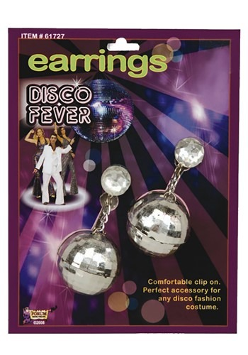 Disco Ball Earrings Accessory