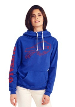 Buffalo Bills Cowl Neck Womens Hoodie