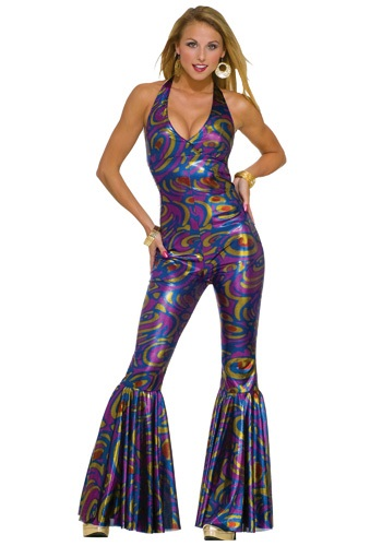 Adult Sexy Disco Jumpsuit