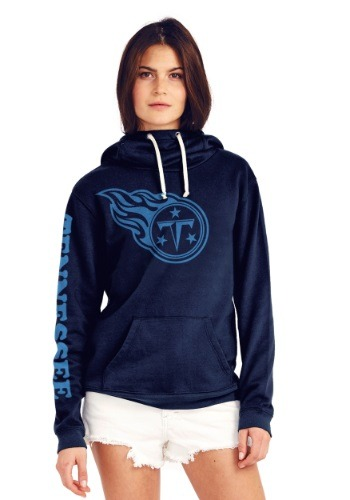 Tennessee Titans Cowl Neck Women's Hoodie