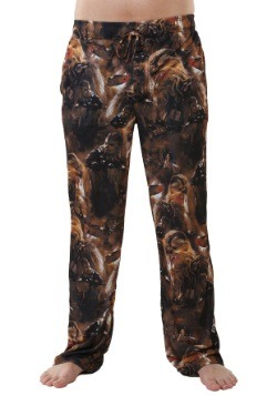 Star Wars Chewie Faces Mens Lounge Pants