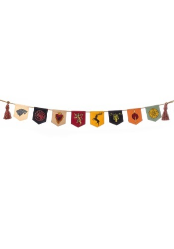 Game of Thrones Sigil Banner Garland