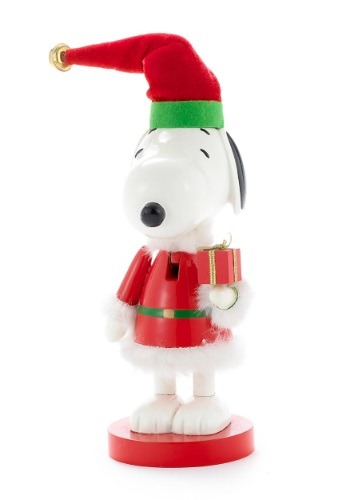 Santa Snoopy Nutcracker