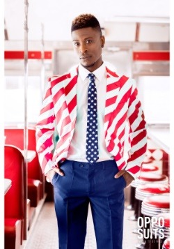 Men's United Stripes Suit