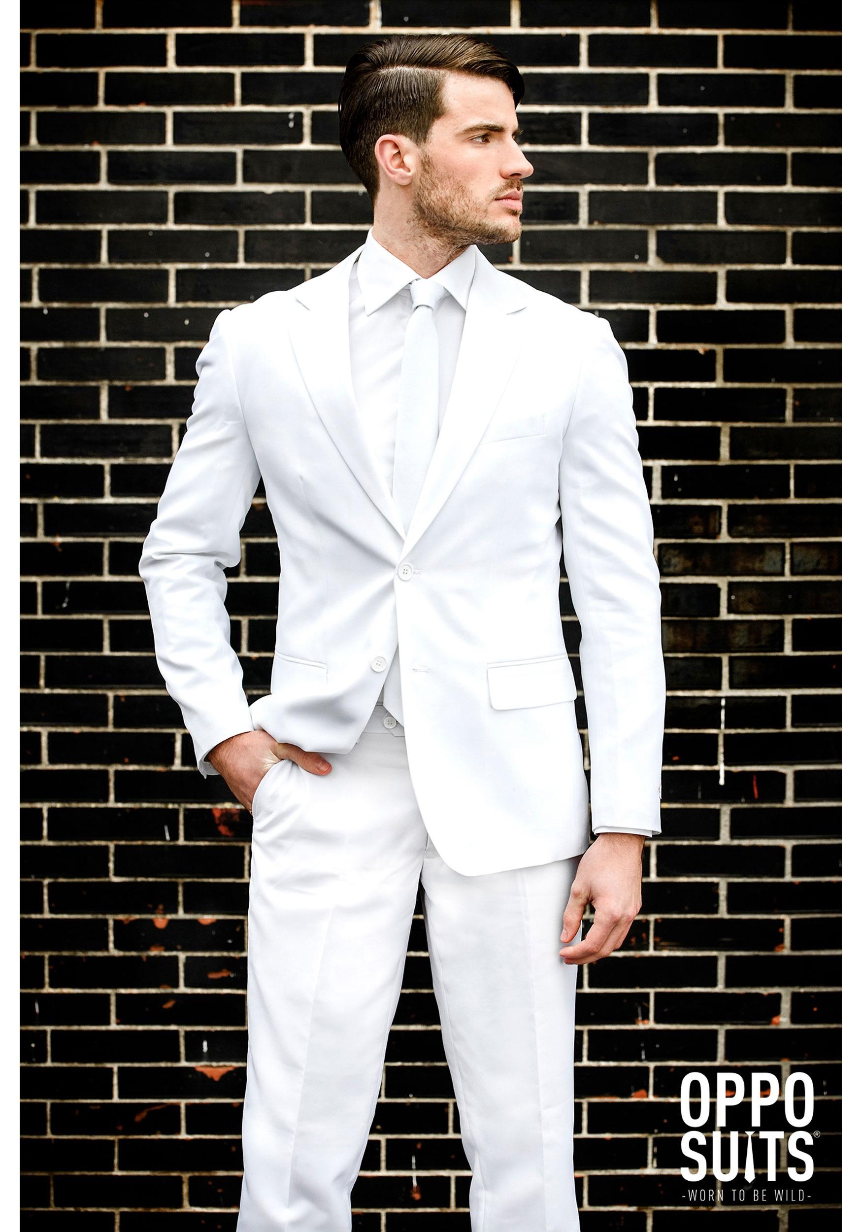 f3a3eecbdf0de Opposuits White Knight Suit for Men