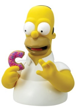 Simpsons Homer with Donut Bank