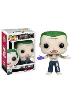 POP Suicide Squad Joker Shirtless Vinyl Figure