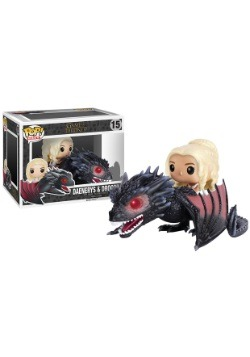 POP Game Of Thrones Drogon And Daenerys