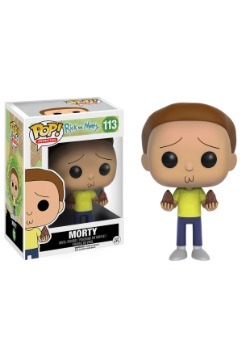POP Rick And Morty Morty Vinyl Figure