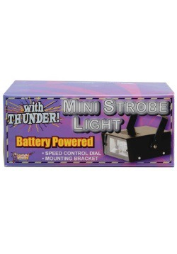 Thundering Mini LED Strobe Light Decoration