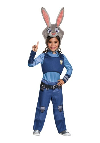 Zootopia Judy Hopps Girls Costume