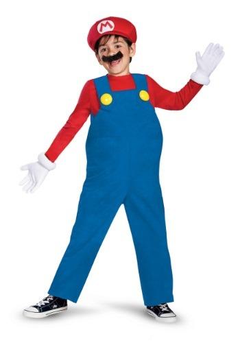 Deluxe Mario Boys Costume