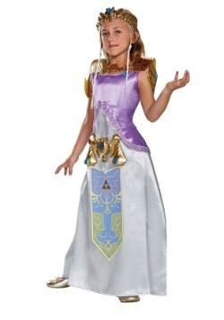 Deluxe Zelda Girls Costume