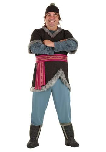 Frozen Kristoff Plus Size Deluxe Adult Costume