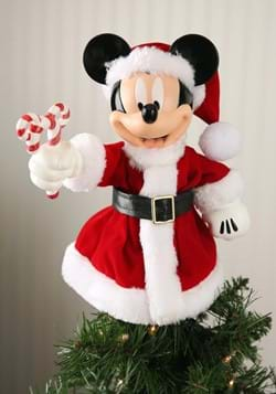 Mickey Mouse Santa Treetop-Tabletop Piece