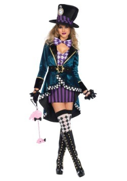 Delightful Hatter Women's Costume