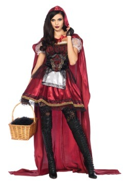 Womens Captivating Miss Red Costume