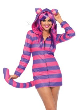 Women' Cozy Cheshire Cat Costume