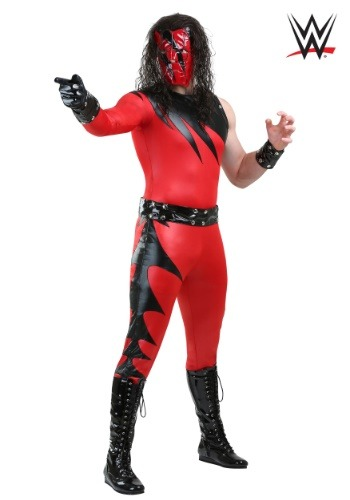 Plus Size WWE Adult Kane Costume