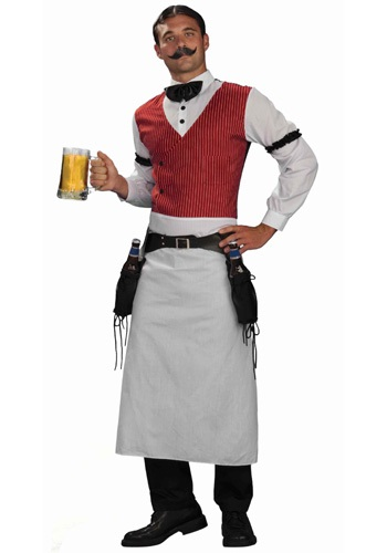 Saloon Bartender Mens Costume