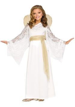 Child Angelic Maiden Costume