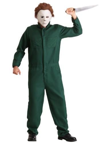 Halloween II Adult Michael Myers Coveralls