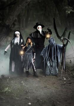 Girls Scary Reaper Costume