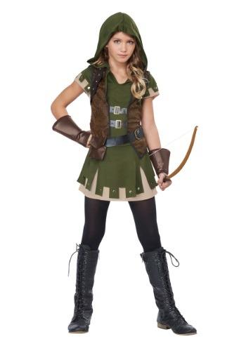 Miss Robin Hood Girl's Costume