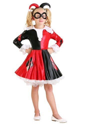 Girls DC Superhero Harley Quinn