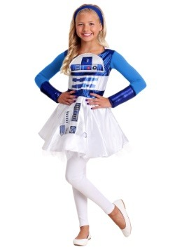 Girls R2D3 Star Wars Dress