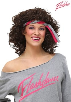 Womens Flashdance Wig