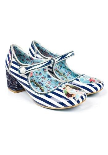 Alice In Wonderland Tick Tock Blue Stripe Mary Jane