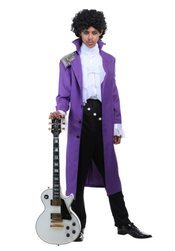 Purple Rock Legend Mens Costume