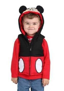 Mickey Mouse Puff Vest & Tee Combo Toddler Boys