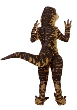 Child Raptor Costume Back