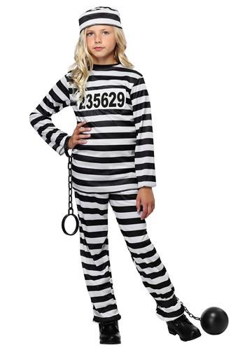 Girl's Prisoner Costume